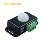 DC 12V 24V Body Infrared PIR Motion Sensor Switch Human Motion Sensor Detector Switch For 3528 5050 5630 3014 SMD Led Strip