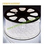 Cuttable 5050 AC high voltage flexible led strip light 100 meter per roll