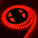 5050 LED strip light red color waterproof 5m/reel