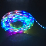 pre programmed IP67 DC12V 5050 SMD rgb Magic dream color ic digital pixel neon light ws2811 led strip with built in controller